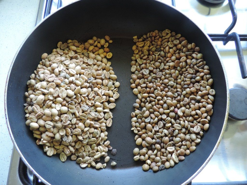 2.Arabica & Robusta in a Pan