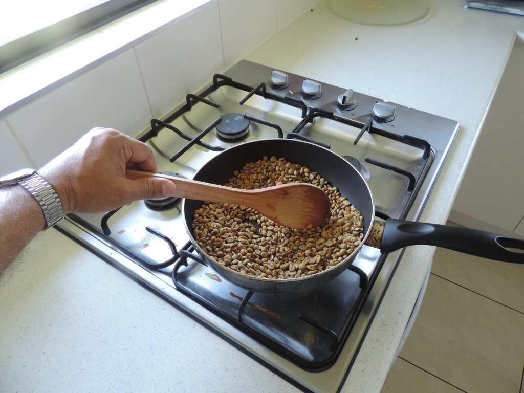 6.Roasting On A Hot Pan